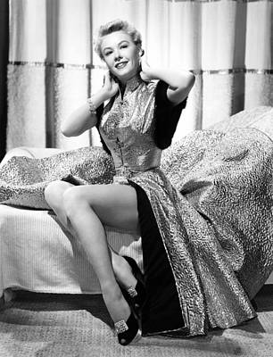 Gold Lame Photograph - Vera-ellen, Ca. Early 1950s by Everett