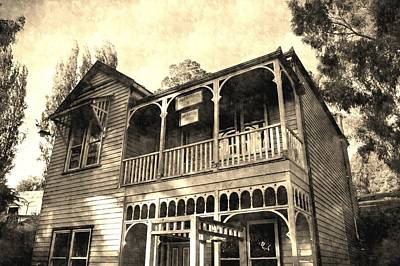 Australian Photograph - Haunted House by Andrew Hunt