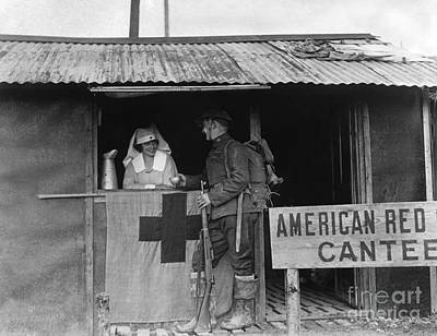 World War I: Red Cross Print by Granger