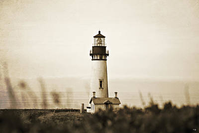 Yaquina Head Lighthouse Print by Scott Pellegrin