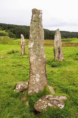 4000 Year Old Standing Stones Print by Ashley Cooper