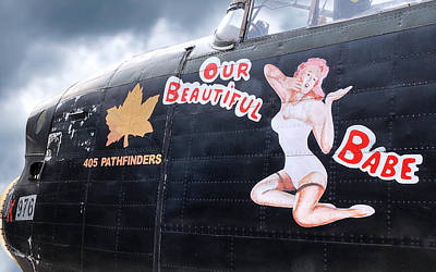 Noseart Photograph - 405 Pathfinders Babe by Gill Billington