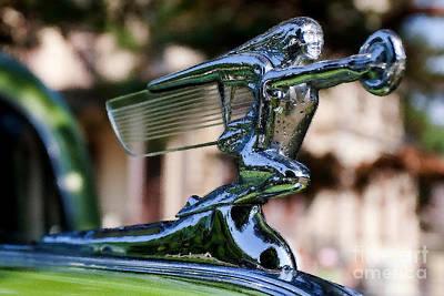 41 Packard Badge Print by Alan Look