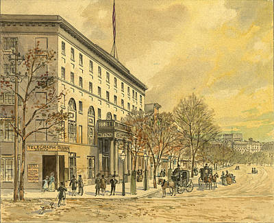 Washington D.c Drawing - Washington, D by Granger