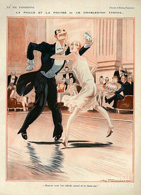 1920s France La Vie Parisienne Print by The Advertising Archives