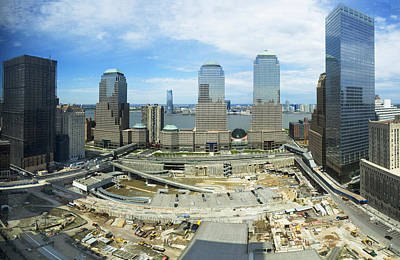 Terrorism Photograph - High Angle View Of Buildings In A City by Panoramic Images