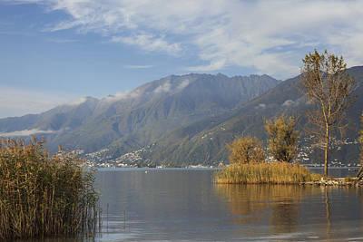 Switzerland Photograph - Lake Maggiore by Joana Kruse