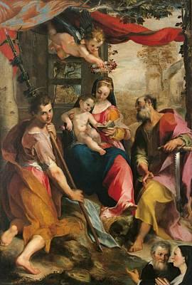 Italy, Marche, Pesaro Urbino, Urbino Print by Everett