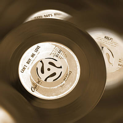 Mike Photograph - 45 Rpm Records by Mike McGlothlen