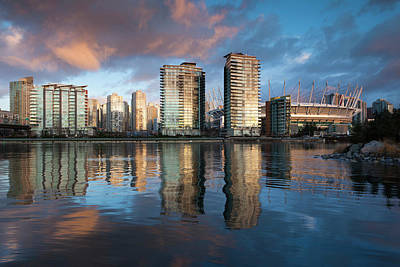 Vancouver Photograph - Canada, British Columbia, Vancouver by Walter Bibikow