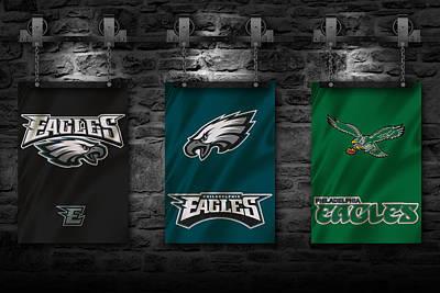 Philadelphia Eagles Print by Joe Hamilton