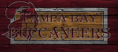 Tampa Bay Buccaneers Print by Joe Hamilton