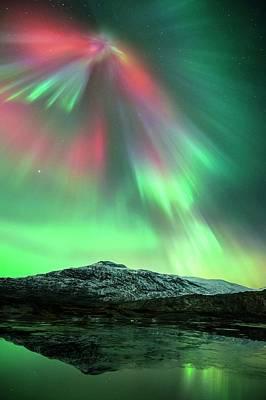 Aurora Borealis Print by Tommy Eliassen