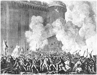 Prison Painting - French Revolution, 1789 by Granger