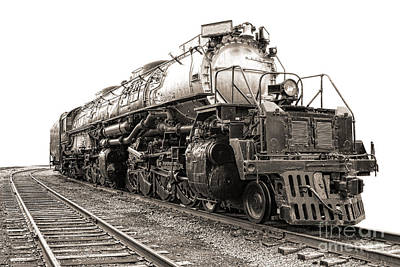 Locomotive Photograph - 4884 Big Boy by Olivier Le Queinec