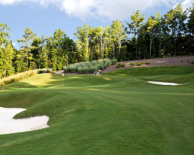 Golf Photograph - 4th Hole At 12 Oaks by Brett Price