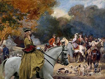 Greyhound Painting -  Italian Greyhound Art Canvas Print by Sandra Sij