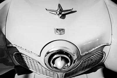1951 Studebaker Commander Hood Ornament Print by Jill Reger