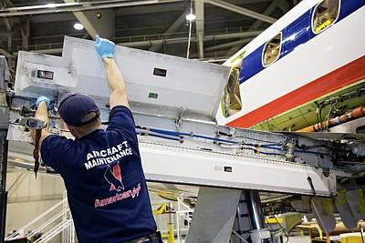 Aircraft Maintenance Print by Jim West