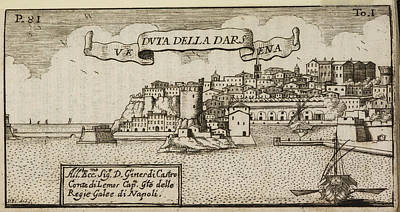 Etc Photograph - An Illustration Of 18th Century Naples by British Library