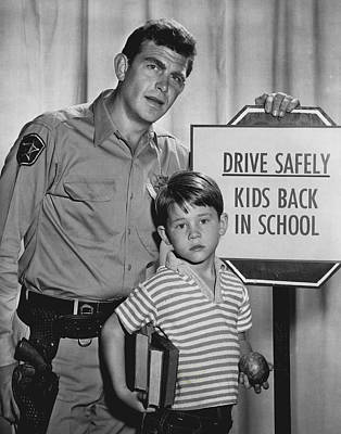 Andy Griffith Show Photograph - Andy Griffith by Retro Images Archive