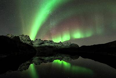 Discharge Photograph - Aurora Borealis by Tommy Eliassen