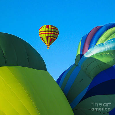 Sunrise Photograph - Balloon Fiesta by Steven Ralser