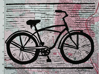 Bike 9 Print by William Cauthern