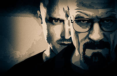 Breaking Bad Print by Ian Hufton