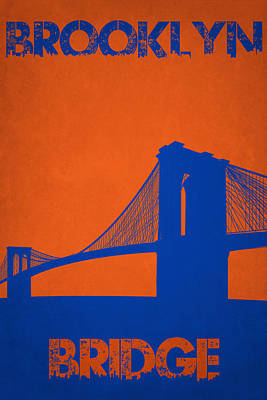 Brooklyn Bridge Print by Joe Hamilton