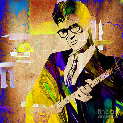 Cricket Mixed Media - Buddy Holly Collection by Marvin Blaine