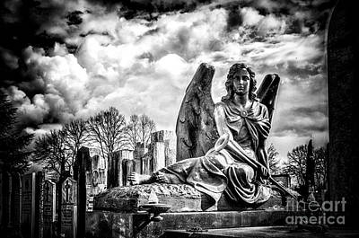 Marble Tomb-stones Photograph - Cemetery Of Mantova by Traven Milovich