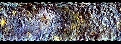 Ceres Print by Nasa/jpl-caltech/ucla/mps/dlr/ida