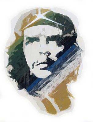Revolution Painting - Che Guevara by Celestial Images