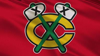 Hockey Photograph - Chicago Blackhawks Uniform by Joe Hamilton