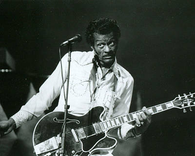 Schools Photograph - Chuck Berry by Retro Images Archive
