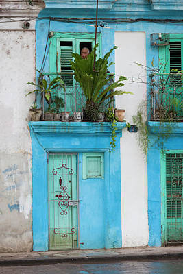 Havana Photograph - Cuba, Havana, Havana Vieja, Old Havana by Walter Bibikow
