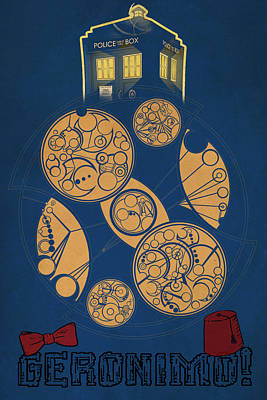 Doctor Who Print by FHT Designs