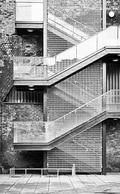 Escape Photograph - Exterior Stairs by Tom Gowanlock