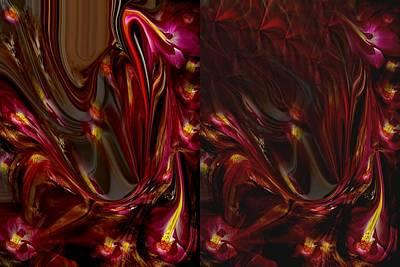 Etc. Mixed Media - Flowers by HollyWood Creation By linda zanini