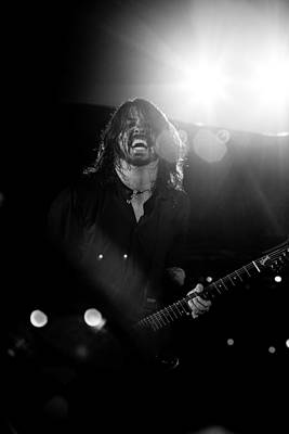 Concert Photograph - Foo Fighters by Ben James