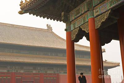 Forbidden City Print by Juan  Silva