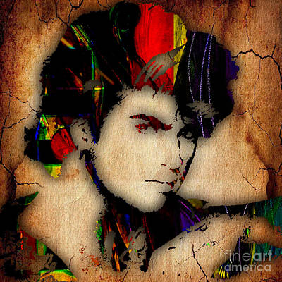 Color Mixed Media - George Michael Collection by Marvin Blaine
