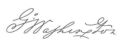Autograph Painting - George Washington (1732-1799) by Granger