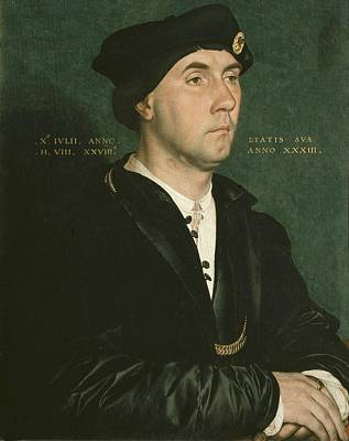 Oil Portrait Photograph - Holbein, Hans, The Younger 1497-1547 by Everett