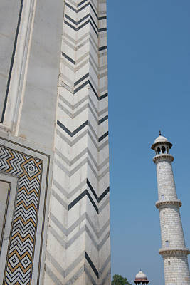 Inlay Photograph - India, Agra, Taj Mahal by Cindy Miller Hopkins