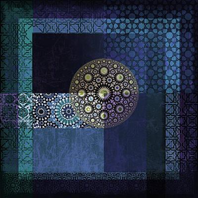 Islamic Art Painting - Islamic Motives by Corporate Art Task Force