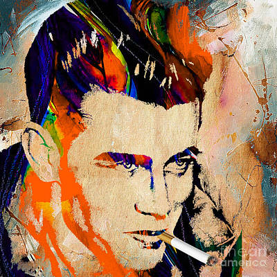 James Dean Collection Print by Marvin Blaine