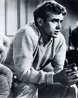 Indiana Photograph - James Dean by Retro Images Archive