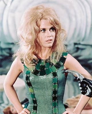 Cult Photograph - Jane Fonda In Barbarella  by Silver Screen